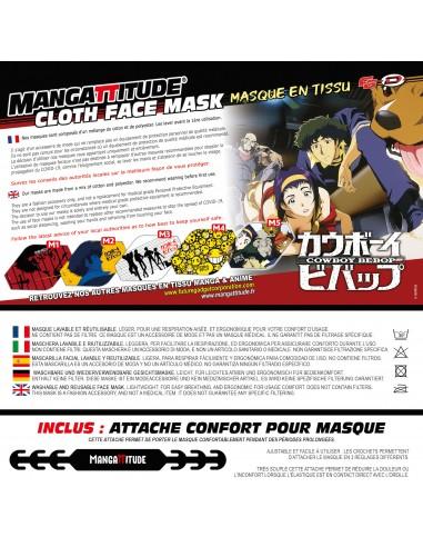 Cowboy Bebop - Official Face Mask -...